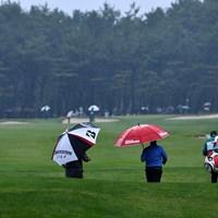 雨に映える原色 2019年 ダンロップフェニックストーナメント 2日目 フェアウェイ