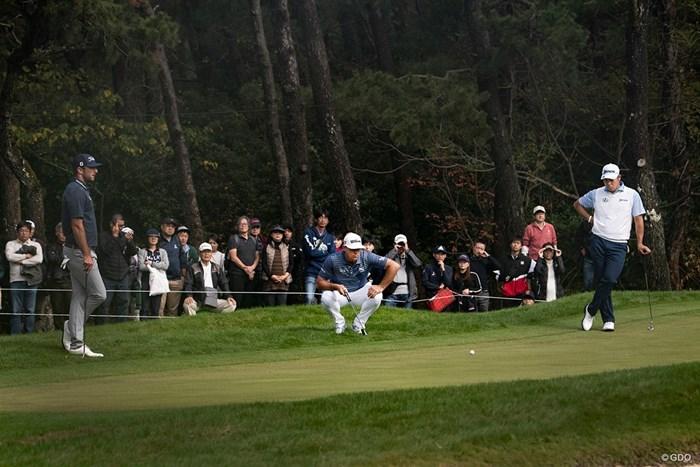PGAツアーのようなペアリングとなった3日目 2019年 ダンロップフェニックストーナメント  3日目 松山英樹