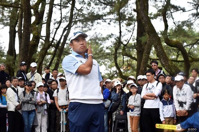 静かに見守るギャラリー 2019年 ダンロップフェニックストーナメント 3日目 松山英樹