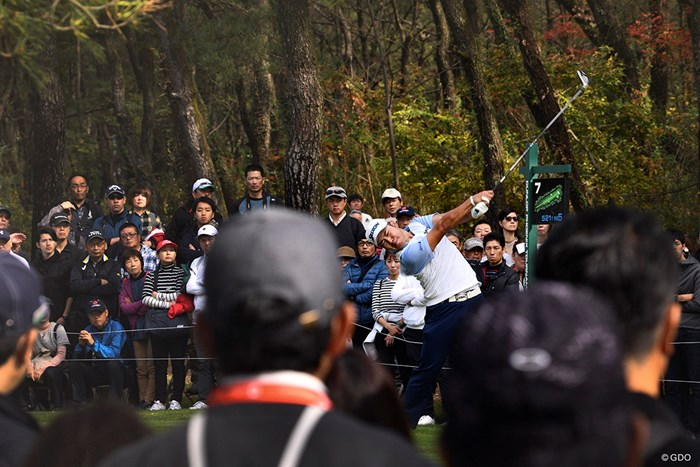 ギャラリーの期待に目一杯応えたい 2019年 ダンロップフェニックストーナメント 3日目 松山英樹