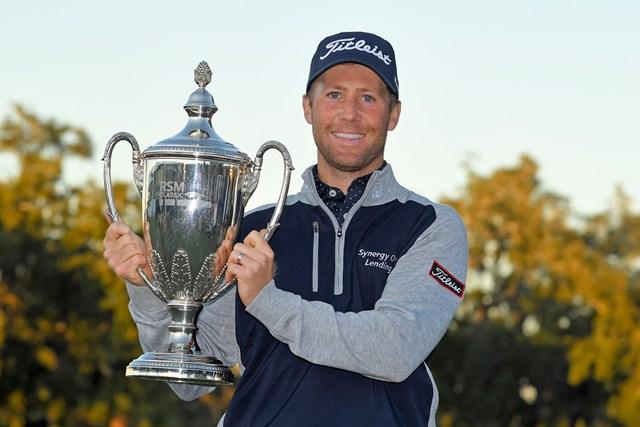 30歳のタイラー・ダンカンが初優勝を飾った(Stan Badz/Getty Images)