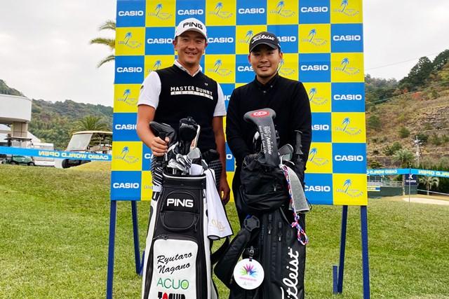 2019年 カシオワールドオープンゴルフトーナメント 事前 永野竜太郎 川村昌弘 一年の最後は高知で。永野竜太郎選手と一緒に練習ラウンド