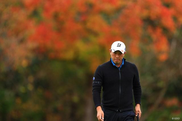 2019年 カシオワールドオープンゴルフトーナメント 初日 堀川未来夢 今日のゴルフには満足していなさそう