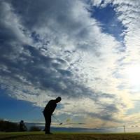 9番グリーン奥から 2019年 カシオワールドオープンゴルフトーナメント 初日 藤田寛之