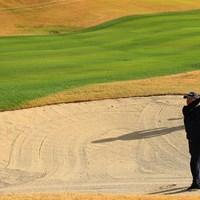 背後に迫る黒い影 2019年 カシオワールドオープンゴルフトーナメント 初日 川村昌弘