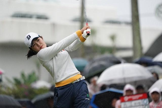 2019年 LPGAツアーチャンピオンシップリコーカップ 初日 古江彩佳 初めてのリコーカップ