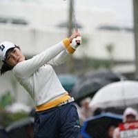 初めてのリコーカップ 2019年 LPGAツアーチャンピオンシップリコーカップ 初日 古江彩佳
