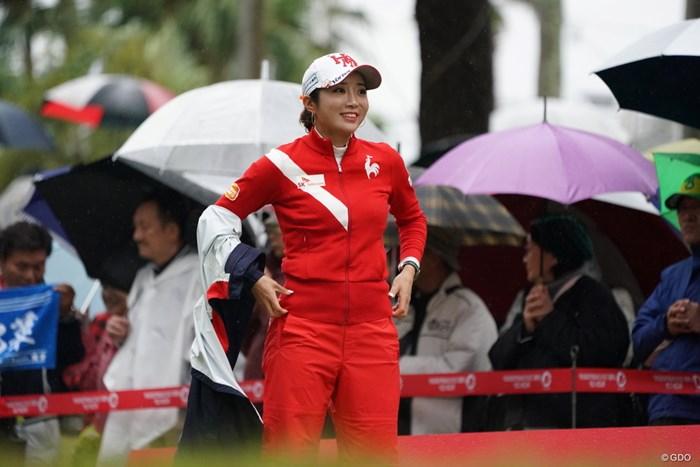 リコーカラーですか 2019年 LPGAツアーチャンピオンシップリコーカップ 初日 イ・ボミ