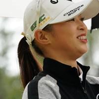 地元宮崎です、応援よろしゅう頼んます 2019年 LPGAツアーチャンピオンシップリコーカップ 初日 柏原明日架