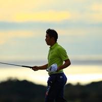 アマチュアの杉原大河も東北福祉大に在学している 2019年 カシオワールドオープンゴルフトーナメント 初日 杉原大河