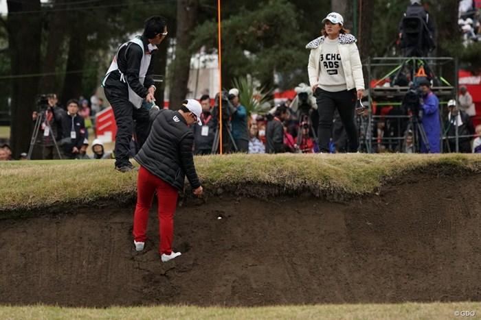 申ジエは痛恨の出遅れ。厳しい状況に追い込まれた 2019年 LPGAツアーチャンピオンシップリコーカップ 初日 申ジエ