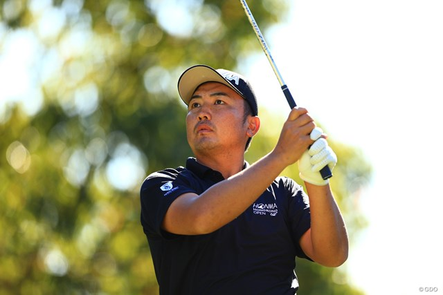 単独首位で決勝ラウンドに進んだ小林伸太郎