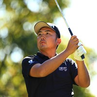 単独首位で決勝ラウンドに進んだ小林伸太郎 2019年 カシオワールドオープンゴルフトーナメント 2日目 小林伸太郎