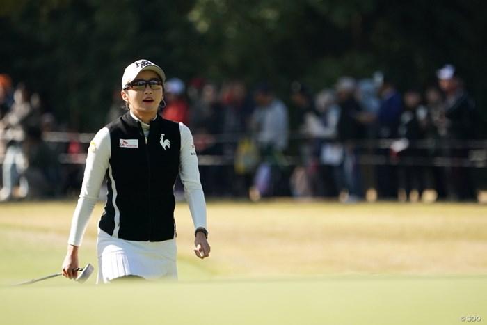 イ・ボミが3位に浮上した。3日目は渋野日向子と同組となる 2019年 LPGAツアーチャンピオンシップリコーカップ 2日目 イ・ボミ