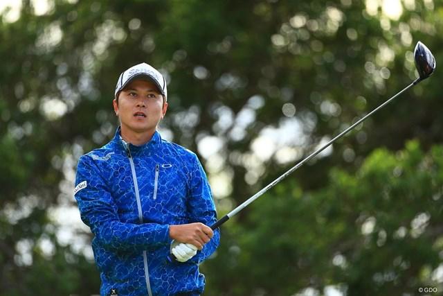 2019年 カシオワールドオープンゴルフトーナメント 2日目 大堀裕次郎 大堀裕次郎は1Wショットに苦しむシーズンを送った ※撮影は大会初日