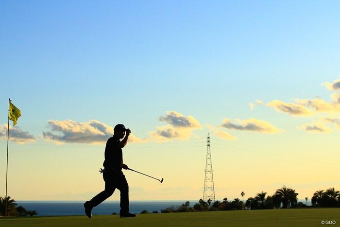 明日もフォトギャラよろしくね 2019年 カシオワールドオープンゴルフトーナメント 2日目 小林伸太郎