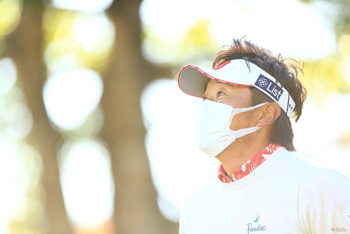 早くマスクが取れると良いですね 2019年 カシオワールドオープンゴルフトーナメント 2日目 宮本勝昌