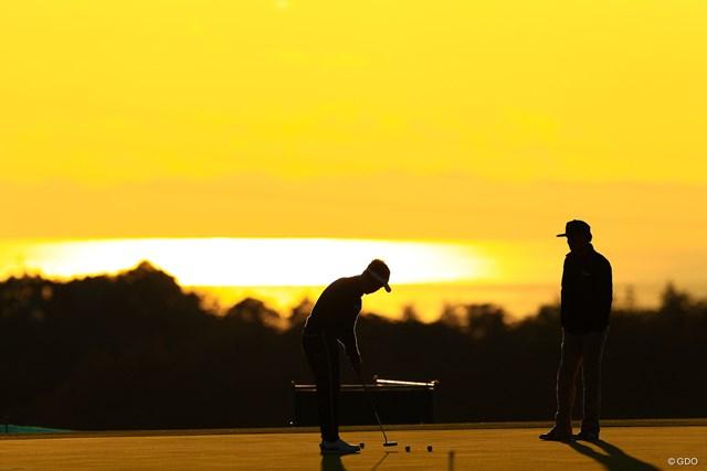 2019年 カシオワールドオープンゴルフトーナメント 2日目 久保谷健一 明日の為に…打つべし
