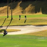 ハートのバンカー発見 2019年 カシオワールドオープンゴルフトーナメント 2日目 木下稜介