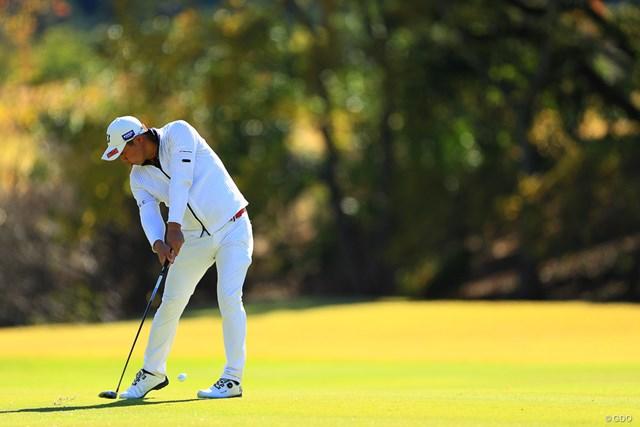 2019年 カシオワールドオープンゴルフトーナメント 2日目 堀川未来夢 堀川選手の白コーデは結構好き