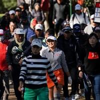 ホステスプロは気分上々 2019年 LPGAツアーチャンピオンシップリコーカップ 2日目 河本結