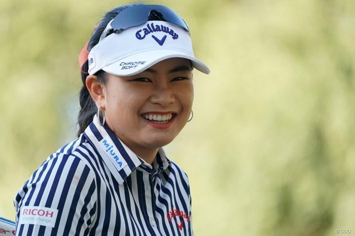 ナイス笑顔 2019年 LPGAツアーチャンピオンシップリコーカップ 2日目 河本結