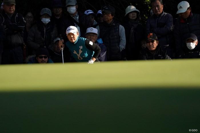 スコア伸ばしてきたぞ 2019年 LPGAツアーチャンピオンシップリコーカップ 2日目 申ジエ