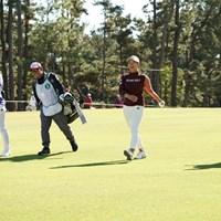 楽しいラウンド、愉快な会話 2019年 LPGAツアーチャンピオンシップリコーカップ 2日目 渋野日向子 柏原明日架