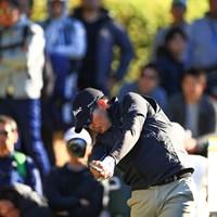 川村昌弘は多くのギャラリーを引き連れてプレーした 2019年 カシオワールドオープンゴルフトーナメント 3日目 川村昌弘