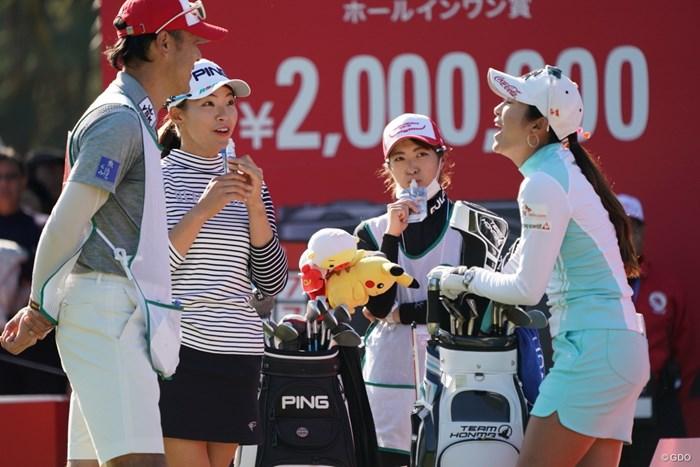 仲間に入れてほしいわ~ 2019年 LPGAツアーチャンピオンシップリコーカップ 3日目 渋野日向子 イ・ボミ