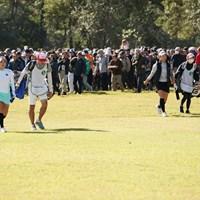 この組み合わせはやばい 2019年 LPGAツアーチャンピオンシップリコーカップ 3日目 渋野日向子 イ・ボミ