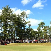 この組のギャラリーは圧倒的 2019年 LPGAツアーチャンピオンシップリコーカップ 3日目 渋野日向子 イ・ボミ
