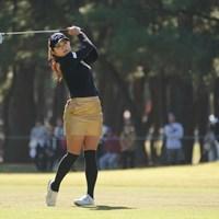 おっ、決まったね 2019年 LPGAツアーチャンピオンシップリコーカップ 3日目 河本結
