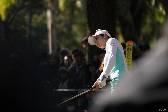 前の人がかぶった、結果オーライ 2019年 LPGAツアーチャンピオンシップリコーカップ 3日目 イ・ボミ