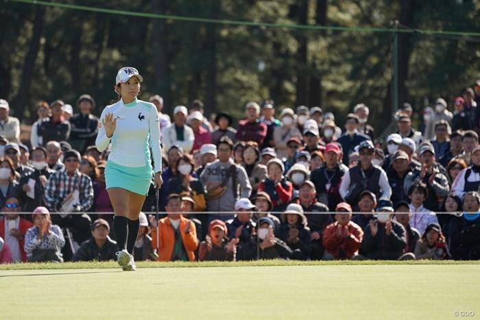 決まったね 2019年 LPGAツアーチャンピオンシップリコーカップ 3日目 イ・ボミ