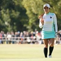 ありがとうございます 2019年 LPGAツアーチャンピオンシップリコーカップ 3日目 イ・ボミ