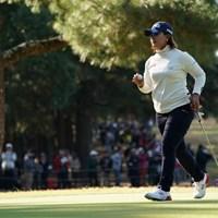 よっしゃ~ 2019年 LPGAツアーチャンピオンシップリコーカップ 3日目 鈴木愛