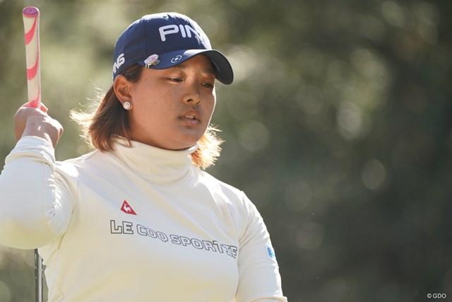 2019年 LPGAツアーチャンピオンシップリコーカップ 3日目 鈴木愛 あかん顔してるな