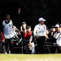 ミスの後にチップイン、かっこいい~ 2019年 LPGAツアーチャンピオンシップリコーカップ 3日目 申ジエ