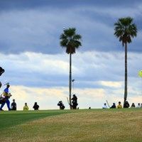 Hole10 par5  3rd shot 2019年 カシオワールドオープンゴルフトーナメント 最終日 石川遼
