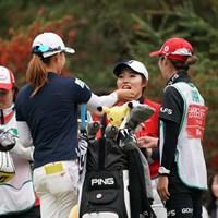 あ~ん 2019年 LPGAツアーチャンピオンシップリコーカップ 最終日 渋野日向子&古江彩佳