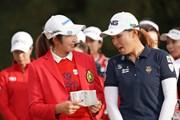 2019年 LPGAツアーチャンピオンシップリコーカップ 最終日 渋野日向子&ぺ・ソンウ