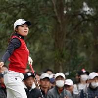 2位タイフィニッシュ。すごいね 2019年 LPGAツアーチャンピオンシップリコーカップ 最終日 古江彩佳