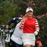 行ってらっしゃ~い 2019年 LPGAツアーチャンピオンシップリコーカップ 最終日 河本結