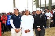 2019年 LPGAツアーチャンピオンシップリコーカップ 最終日 鈴木愛 申ジエ 渋野日向子