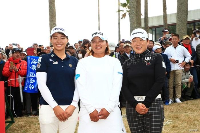 三つどもえの戦いでした 2019年 LPGAツアーチャンピオンシップリコーカップ 最終日 鈴木愛 申ジエ 渋野日向子