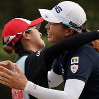 疲れたよ~ 2019年 LPGAツアーチャンピオンシップリコーカップ 最終日 渋野日向子