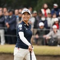 締めもスマイル 2019年 LPGAツアーチャンピオンシップリコーカップ 最終日 渋野日向子