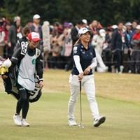 出だしから笑顔やん 2019年 LPGAツアーチャンピオンシップリコーカップ 最終日 渋野日向子
