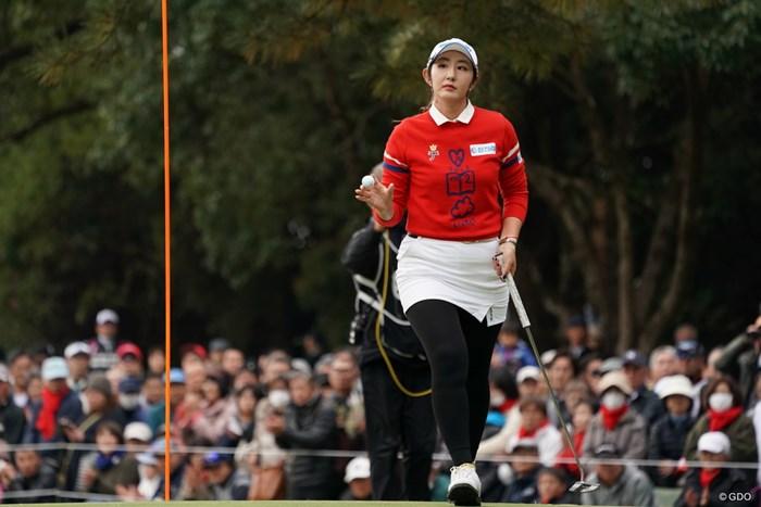 ペ・ソンウが最終戦を逆転で制し、メジャー初優勝を飾った 2019年 LPGAツアーチャンピオンシップリコーカップ 最終日 ペ・ソンウ